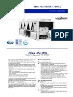 30XA Chiller Catalog