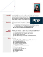 resume template 2018