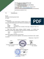 Surat Ijin Panitia