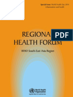 Regional Health Forum_WHO