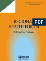 Regional Health Forum_WHO