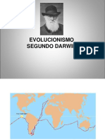 Evolucionismo Segundo Darwin