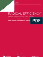 Radical Efficiency