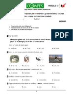 Comunicare Comper  - antrenament clasa I.pdf
