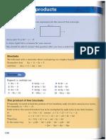 Y8 Handout 06 STP9 Algebraic Products