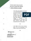 Indira Gandhi's Case - Ipoh High Court Judgement - Justice Lee Swee Seng