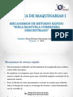 Biela Manivela Corredera Descentrada