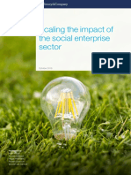 Scaling the Impact of the Social Enterprise Sector