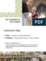 6. Holy Orders