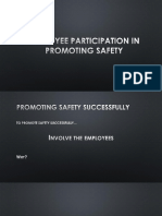 Employee Participation in Promoting Safety