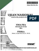Un Fisika Sma 2012-2013