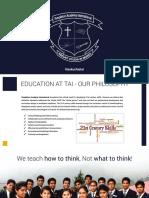Prospectus - Templeton Academy International