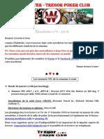 Newsletter n°4 - 2018 (28 janvier 2018)