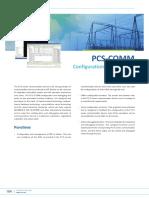 Flyer - PCS-COMM Configuration & Debugging Tool