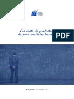 Note - Les Couts de Production Du Parc Nucleaire Francais - Ppe - Sfen