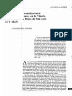 (1992) Sanchez Erauskin, Javier - Un Sermón Anticonstitucional de Fray Demonio en La Vitoria de Los Cien Mil Hijos de San Luis