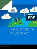 Microsoft Azure in Education