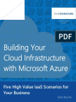 eBook Building Your Cloud Infrastructure With Microsoft Azure