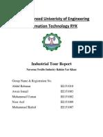 Industrial Report (Naveena Textile )