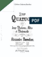 Borodin - 2nd quartet