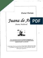 Joana d'Arc - Partitura