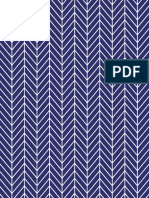 Printable Paper Herringbone Navy