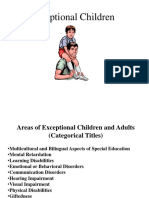 Exceptionalities Overview