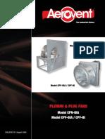 Plenum Plug Fans (Models Cpfbi Cpfbia Cpnbia) Catalog 751
