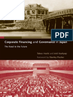 Corporate Financing and Governance in Japan--The Road to the Future