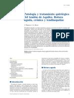 04 - Patología y Tratamiento Quirúrgico Del Tendón de Aquiles. Rotura Aguda, Crónica y Tendinopatías
