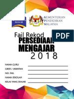 Rekod Persediaan Mengajar 2018 (Designed by Elrine Johini)