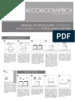 Manual Porcelanato Piso v23
