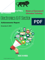 Electronics & IT Sector - Achievement Report