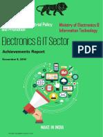 Electronics & IT Sector - Achievement Report