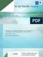 Rosilda Verissimo Da Silva - Promoção Da Saúde - Hospital Como Foco