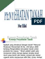 KONSEP PENYEHATAN TANAH