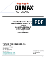 Tormax TX9200 Manual-1