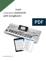 Manual Yamaha SongBook