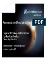 Semiconductor Manufacturing Austriamicrosystems