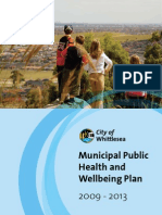 Whittle Sea Municipal Public Health and Well Being Plan