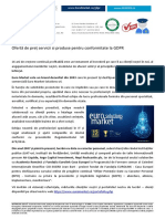 TOOL Kit GDPR Servicii GDPR Audit conformitate GDPR Aliniere GDPR Implementare GDPR - Externalizare DPO 2019