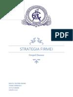 Strategia Firmei Danone 1