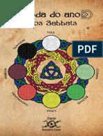 Santuário Lunar - Roda Do Ano e Os Sabbats