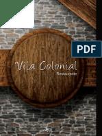 CARDAPIO Vila Colonial
