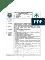 7.7.2.5 Sop Pencatatan Tindakan Pembedahan Pada Rekam Medis