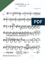 Sor Fantasia Opus30