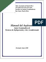 Puertor Rico - Manual Del Aspirante Junta Examinadora de Técnicos de Refrigeración y Aire Acondicionado - PDF