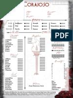 Ancient Bloodline - Corajoso Sheet