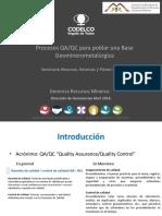 2 - Procesos QAQC en Geominerometalurgia - P. Zuniga - Codelco.pdf