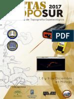 Actas Simposio Topografía Espeleológica  TopoSur 2017